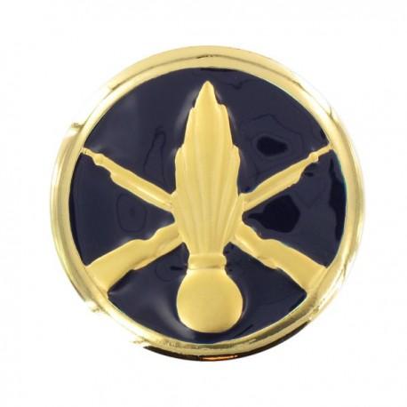 Insigne de collet Infanterie or