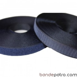 Velcro bleu marine 25 mm