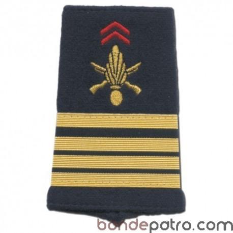 Fourreaux d'épaule Commandant