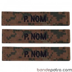Bande patro Airsoft camouflage Marpat
