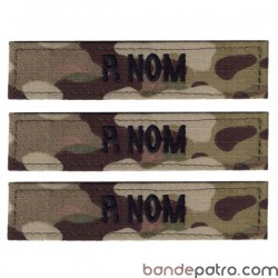 Bande patro tissu multi camouflage