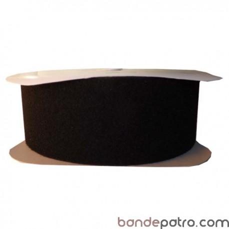 Velcro noir 100 mm