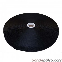 Velcro noir 25 mm