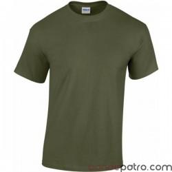 Tee-shirt militaire vert armée