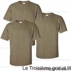 Lot x3 Tee Shirt Militaire