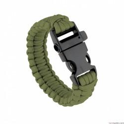 Bracelet de survie vert armée