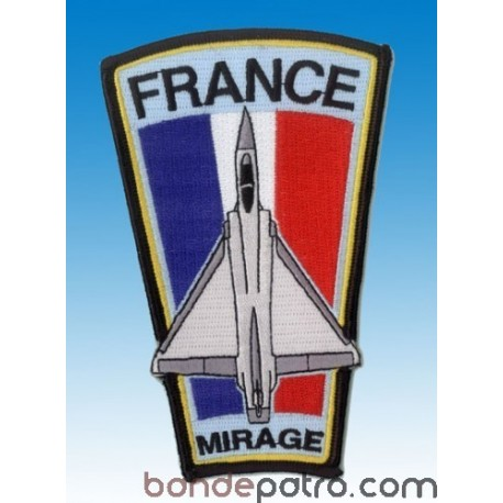 Ecusson France Mirage 2000