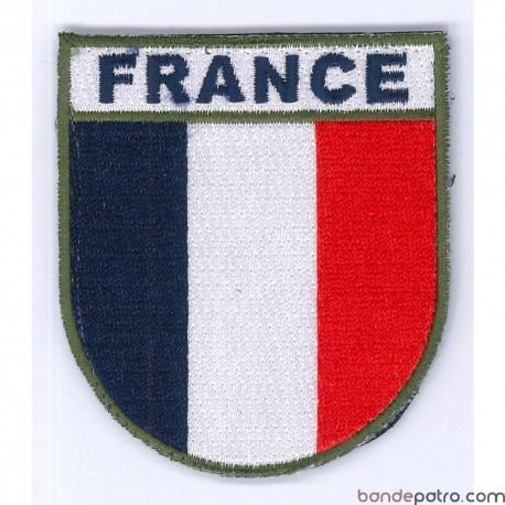 Ecusson France velcro