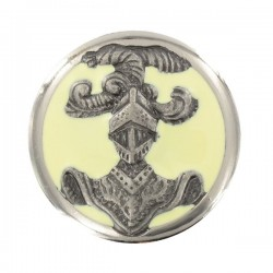 Insigne de collet ABC Dragon argent