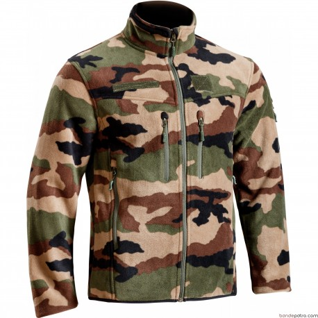 Blouson polaire Defender camouflage Centre Europe
