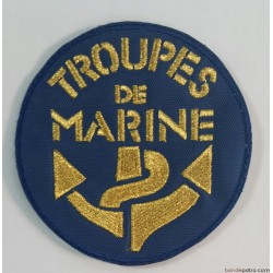 Ecusson Brodé or Troupes de Marine