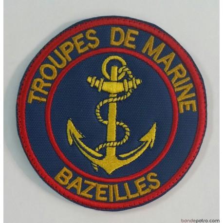 Ecusson Troupes de Marine Bazeilles