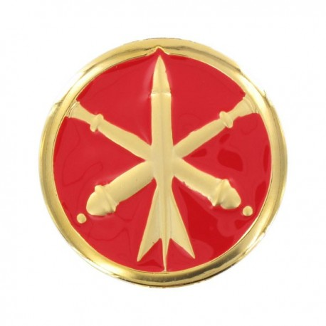 Insigne de collet Artillerie or