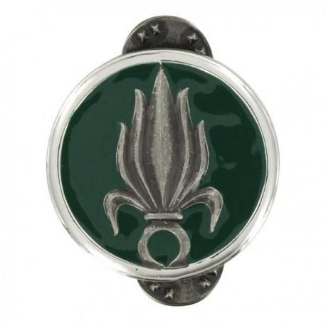 Insigne de collet Légion argent